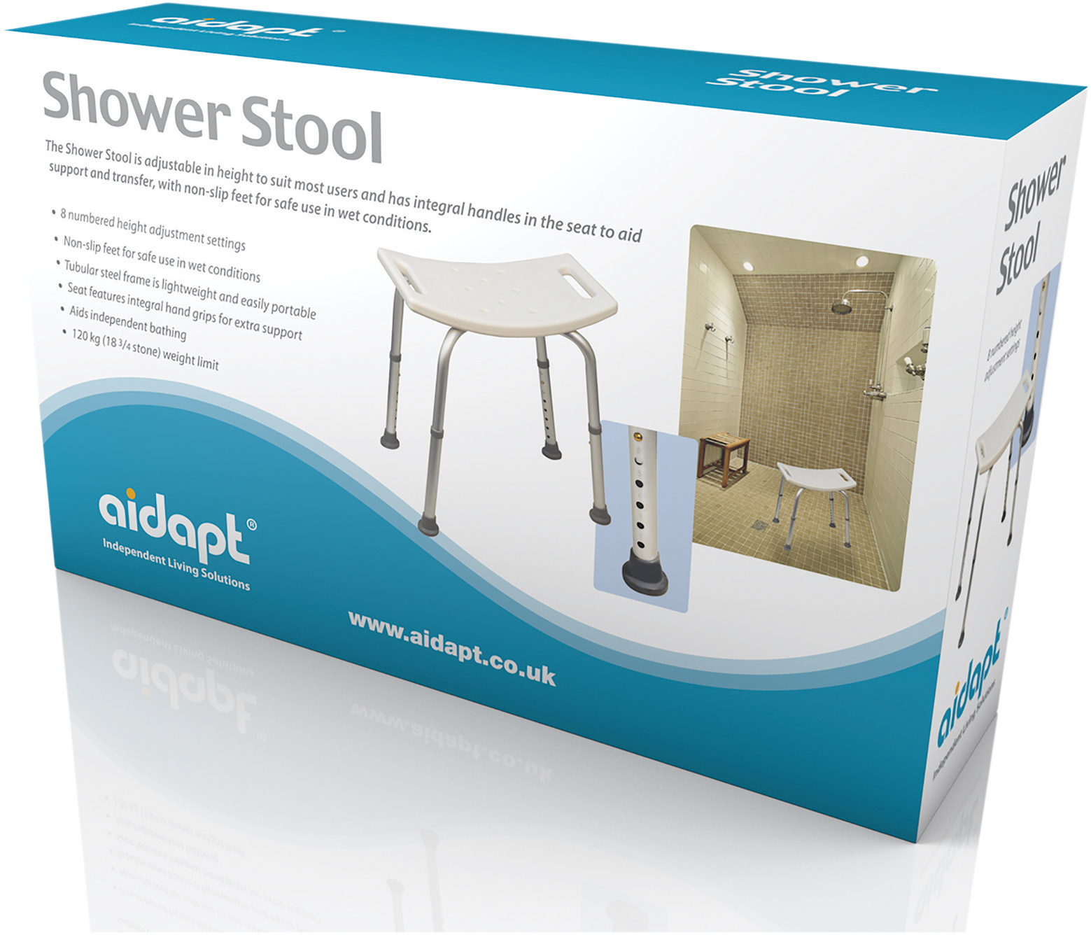 Shower Stool Aidapt Mobility Aids & Independent Living Solutions ...