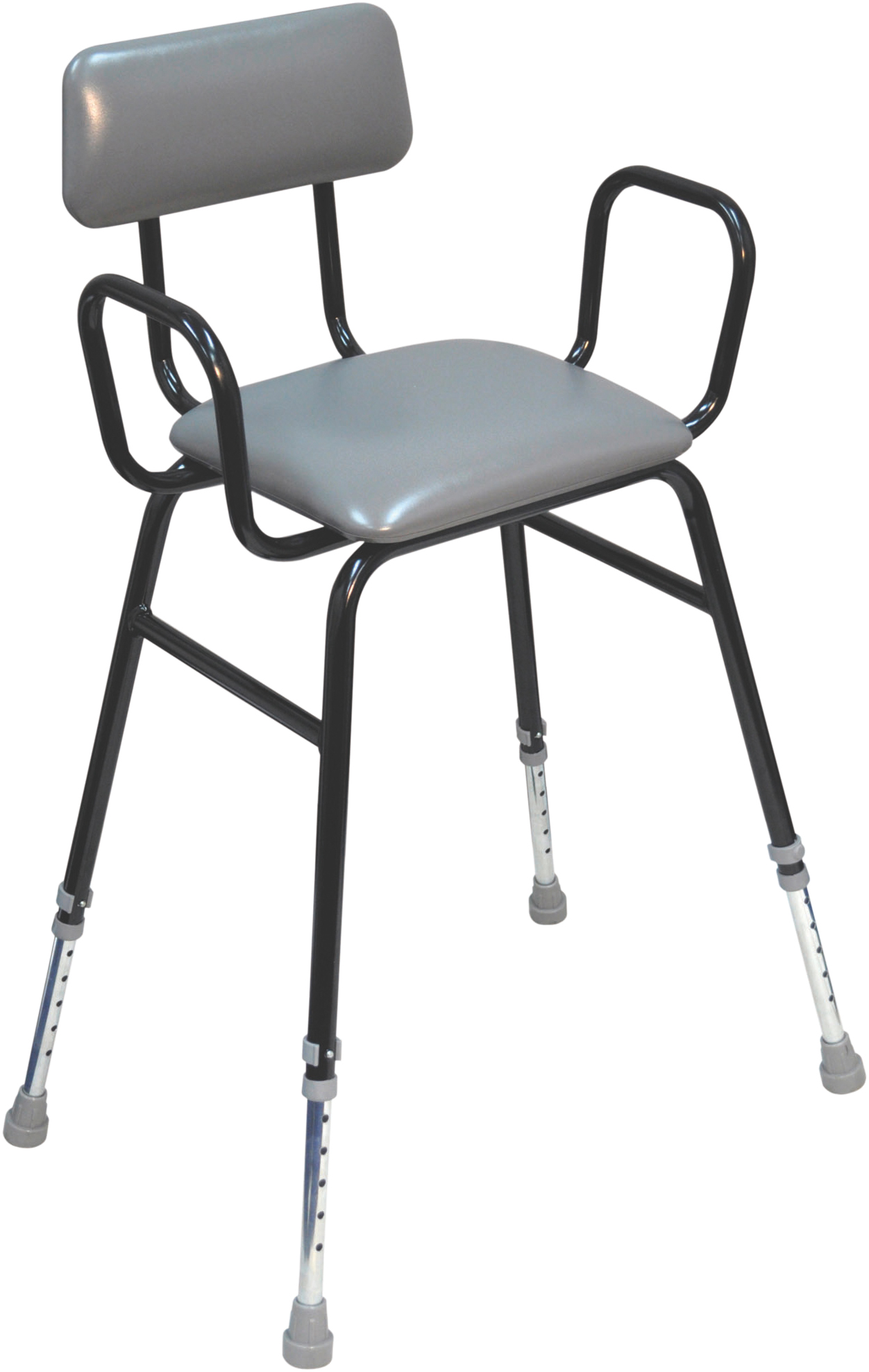 Black Perching Stool Aidapt Mobility Aids Amp Independent