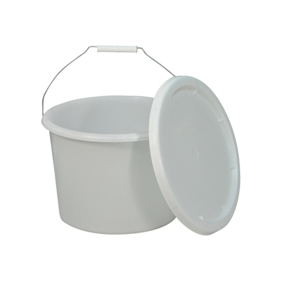 Commode Bucket and Lid for Norfolk Commode Chair