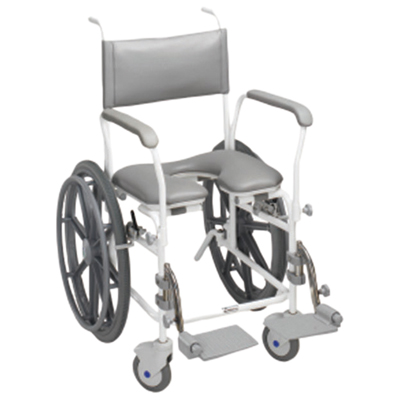 "Aquamaster (A11) Self Propelled Shower Commode Chair (Size Seat Width: 445 (17""))"