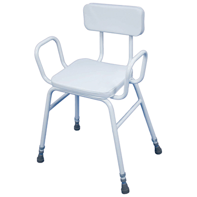 Malling Perching Stool (Configuration Perching Stool with Arms/Padded Back)