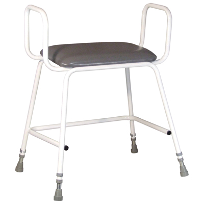 Torbay Bariatric Perching Stool (Arms Yes)