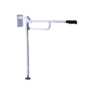 Solo Compact Hinged Arm Support with Floor Console
